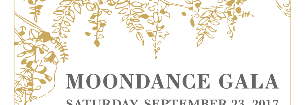 Saturday, September 23, 6:30 pm – Moondance Gala